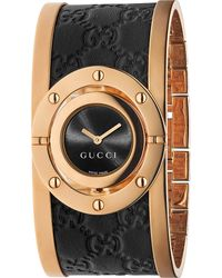 Gucci | Multicolor Ya112438 Twirl Large Pink-gold Pvd Watch | Lyst