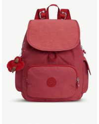 Kipling - Spicy Red Kip P102 City Pack S Backpack - Lyst
