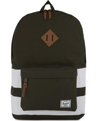 Herschel Supply Co. - Green Heritage Canvas Backpack - Lyst
