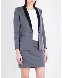 Claudie Pierlot - Gray Veritable Gabardine Jacket - Lyst