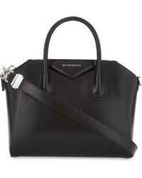 Givenchy - Black Antigona Small Leather Tote Bag - Lyst