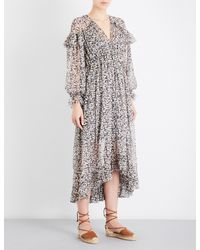 Zimmermann - Multicolor Prima Cherry Chiffon Dress - Lyst