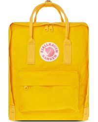 Fjallraven - Yellow Kånken Backpack - Lyst