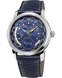 Frederique Constant - Black Fc718nwm4h6 Stainless Steel Watch for Men - Lyst