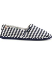 Havaianas - Black Origine Iii Striped Canvas Espadrilles - Lyst