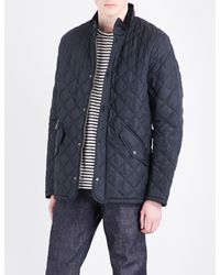 Barbour - Blue Chelsea Quilted Jacket for Men - Lyst