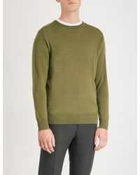 Tiger Of Sweden - Green Mattias Crewneck Wool Jumper for Men - Lyst