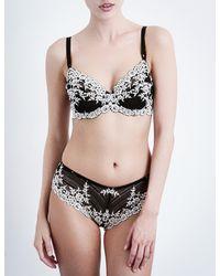 Wacoal - Black Embrace Lace Stretch-lace Underwired Bra - Lyst