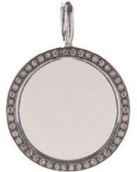 Annoushka - Mythology 18ct White-gold And Pavé-diamond Pendant - Lyst