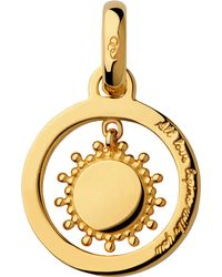 Links of London - Metallic Mother's Say 18ct Yellow Gold Vermeil Sun Charm - Lyst