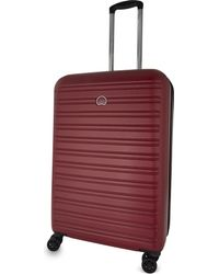 Delsey - Red Segur Four-wheel Spinner Suitcase 70cm for Men - Lyst