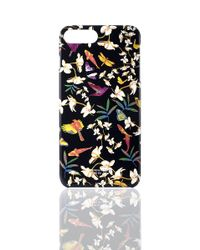 Shanghai Tang | Black Ginger Flower Iphone 7 Plus Case | Lyst