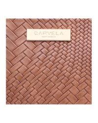 Carvela Kurt Geiger - Brown Pam Structured Mini Hobo - Lyst