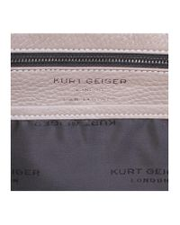 Kurt Geiger - Multicolor Leather Hampstead Tote In Taupe - Lyst