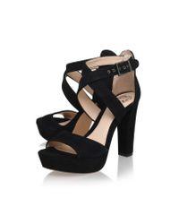 Vince Camuto - Black Shayla High Heel Sandals - Lyst