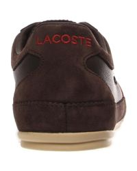 Lacoste - Brown Misano 22 Lcr for Men - Lyst