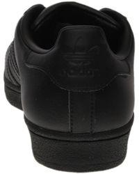 Adidas - Black Superstar Glossy Toe - Lyst