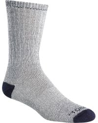 Terramar - Gray All Season Crew Socks (4 Pairs) for Men - Lyst