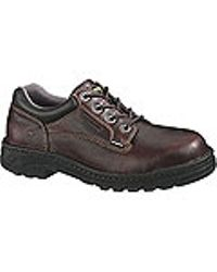 Wolverine - Brown Durashocks® Exert Oxford Sr Eh St for Men - Lyst