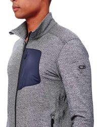 Icebreaker - Gray Momentum Long Sleeve Zip Jacket for Men - Lyst