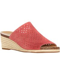Lucky Brand - Red Jemya Wedge - Lyst