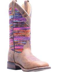 Laredo - Purple Pueblo Cowgirl Boot 5639 - Lyst