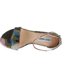 Steve Madden - Multicolor Carrson Ankle Strap Sandal - Lyst