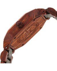 Earth Wood - Brown Acadia Bracelet Watch - Lyst