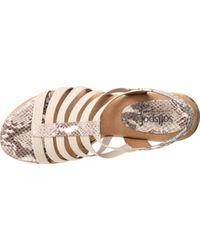 Softspots - Multicolor Naples Slingback Sandal - Lyst