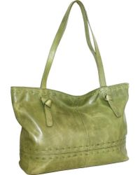 Nino Bossi - Green Tricia Leather Tote - Lyst