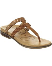 Aetrex - Multicolor Mona Thong Sandal - Lyst