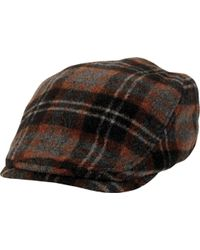 eaabe32b Lyst - San Diego Hat Company Driver Flat Cap Cth8049 in Brown