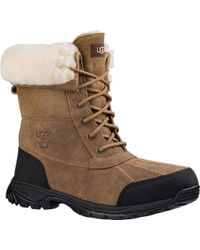 Ugg - Brown Butte Bomber Duck Boot - Lyst