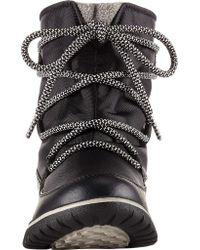 Sorel - Black Cozy Explorer Snow Boot - Lyst
