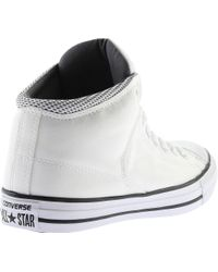 Converse - White Chuck Taylor All Star High Street Mid for Men - Lyst