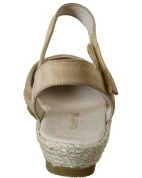 David Tate - Natural Canyon Quarter Strap Espadrille - Lyst