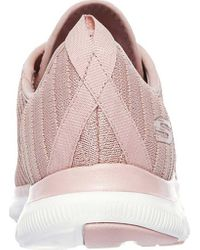 Skechers - Pink Flex Appeal 2.0 Estates Sneaker - Lyst
