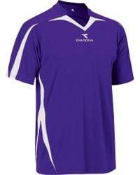 Diadora - Purple Rigore Jersey for Men - Lyst
