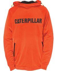 Caterpillar - Orange Contour Pullover Sweatshirt for Men - Lyst