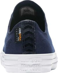 Converse - Blue Chuck Taylor All Star Cordura Ox Sneaker for Men - Lyst