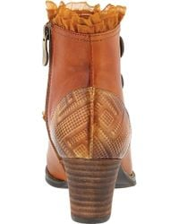 Spring Step - Brown Conchita Ankle Boot - Lyst