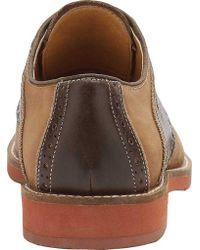 G.H. Bass & Co. - Brown Noah Saddle Buck for Men - Lyst