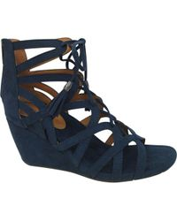 Kenneth Cole Reaction - Blue Cake Pop Wedge Sandal - Lyst