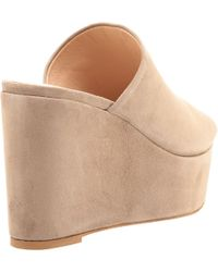 Charles David - Natural Padma Wedge Slide - Lyst