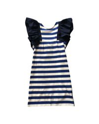 Sea - Blue St. Tropez Ruffle Dress - Lyst