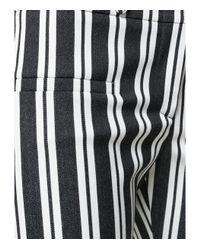 Altuzarra - Black/white Serge Vertical Striped Trousers - Lyst