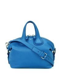 Givenchy | Blue Small 'nightingale' Tote | Lyst