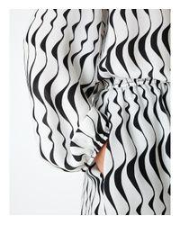 Ernst Reiko - Black & White 'francette' Dress - Lyst