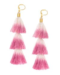 Shashi - Pink Sia Earrings - Lyst