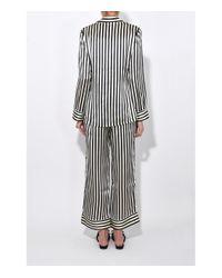 Olivia Von Halle - Black/white Nika Lila Pajama Set - Lyst